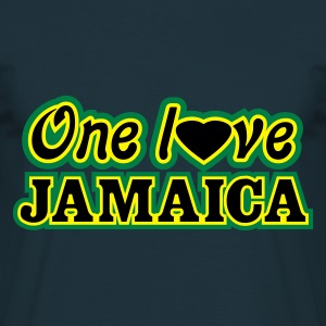 one love jamaica - T-shirt herr