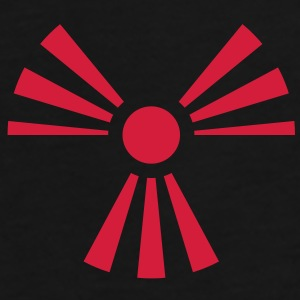 Radiation Sign (Rising Sun) (Vector) - Männer Premium T-Shirt