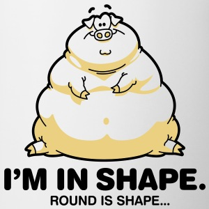 Round Is Shape 1 (2c)++ T-shirts - Kop/krus