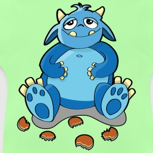 Cookie monster - honger, kruimels Kinder sweaters - Baby T-shirt