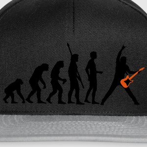 evolution_guitar_a Tee shirts - Casquette snapback