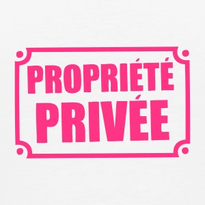 pancarte propriete privee Sous-vêtements - T-shirt Premium Homme