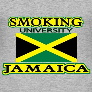 smoking university jamaica - Slim Fit T-shirt herr
