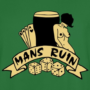 2 colours - mans ruin pin up girl sex drugs rock n roll junggesellenabschied Sweat-shirts - Maillot de football Homme