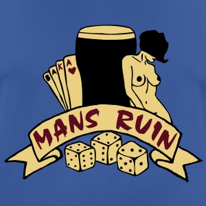 3 colours - mans ruin pin up girl sex drugs rock n roll junggesellenabschied Hoodies & Sweatshirts - Men's Breathable T-Shirt