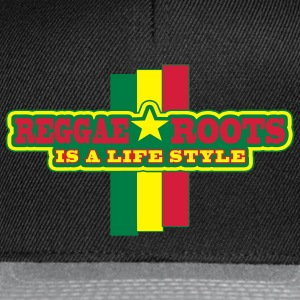 reggae roots is a life style - Gorra Snapback