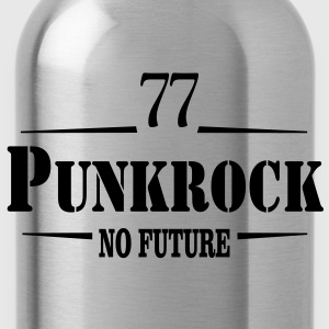 Punkrock 77 no Future Streetpunk einfarbig Kids' Shirts - Water Bottle