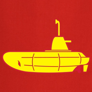2 colours - Gelbes U-Boot - Yellow Submarine Tee shirts - Tablier de cuisine