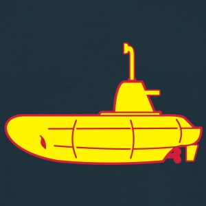 2 colours - Gelbes U-Boot - Yellow Submarine Sweat-shirts - T-shirt Homme
