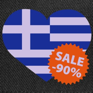 Greece Sale | Finance crisis | Sparmaßnahme Europa T-Shirts - Snapback-caps