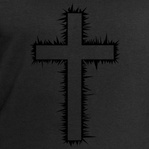 Christian cross T-Shirts - Men's Sweatshirt by Stanley & Stella