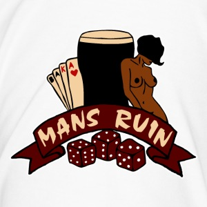 Digital03 - mans ruin pin up girl sex drugs rock n roll junggesellenabschied Tassen - Männer Premium T-Shirt
