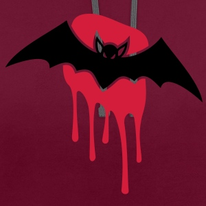 Bat - Sang - Mal - horribles Sacs - Sweat-shirt contraste