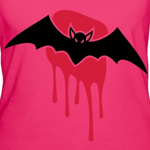 Bat - Blood - Evil - Scary Bags  - Women's Organic T-shirt