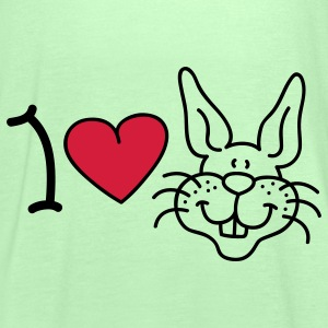 I love Rabbits Bags  - Women's Tank Top by Bella
