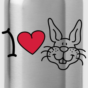 I love Rabbits Bags  - Water Bottle