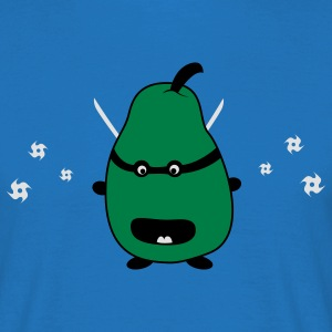 Funny Ninja Pear Tabliers - T-shirt Homme