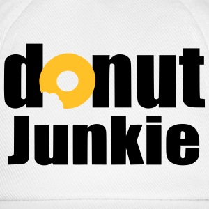 donut junkie Accessories - Baseball Cap