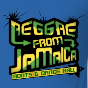 reggae from jamaica roots & dance hall Jackor - Slim Fit T-shirt herr