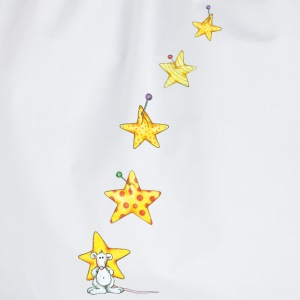 The mouse and the stars  Aprons - Drawstring Bag