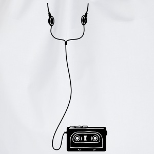 Walkman with headphones  - Gymtas