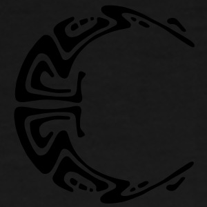 Moon Mond Maya Tattoo Tribal Bags  - Men's Premium T-Shirt