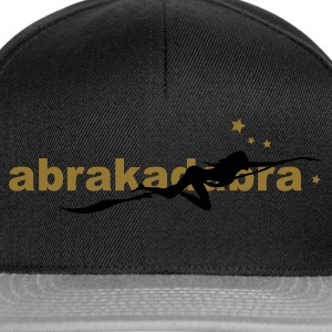 witch, witches, witch, wicca, women goth, gothic, psy, goa, woman, abracadabra, magic, magical, sex, sexy T-Shirts - Snapback Cap
