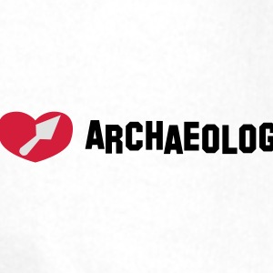 I love archaeology - Sweat-shirt à capuche Premium pour hommes