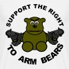 Support The Right To Arm Bears T-Shirts - Men's T-Shirt