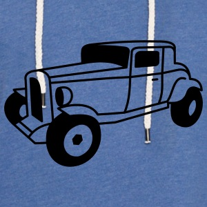 1 color Oldtimer Hot Rod Straßenkreuzer Rock and Roll Custom Car Baby-bodyer - Let sweatshirt med hætte, unisex