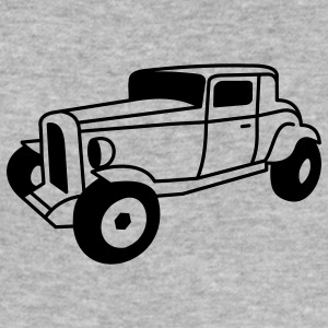 1 color Oldtimer Hot Rod Straßenkreuzer Rock and Roll Custom Car Tröjor - Slim Fit T-shirt herr