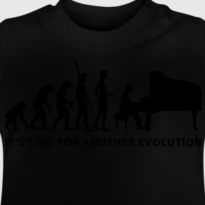 evolution_pianist_b Tee shirts Enfants - T-shirt Bébé