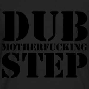Dubstep Mother T-shirts - Herre premium T-shirt med lange ærmer