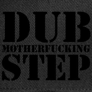 Dubstep Mother T-shirts - Snapback Cap