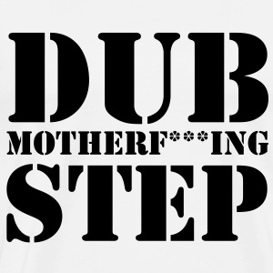 Dubstep Mother Clean Tröjor - Premium-T-shirt herr