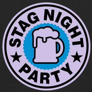 Stag Night | Bachelor Party | Beer | Bier T-Shirts - Männer Premium Langarmshirt