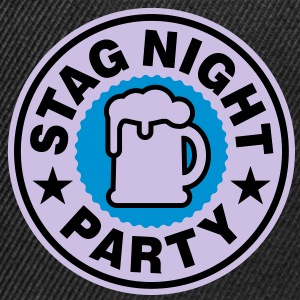 Stag Night | Bachelor Party | Beer | Bier T-Shirts - Snapback Cap