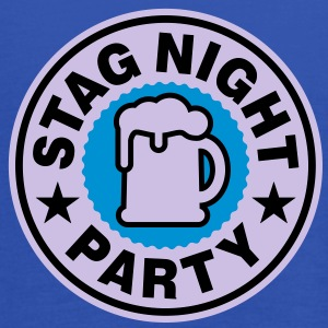 Stag Night | Bachelor Party | Beer | Bier T-Shirts - Singlet for kvinner fra Bella