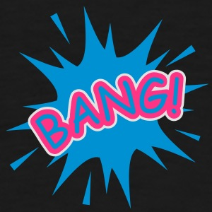 A comic balloon with a Bang Underwear - Men's Premium T-Shirt