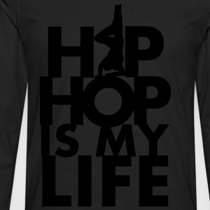 Tablier Hip hop is my life - T-shirt manches longues Premium Homme