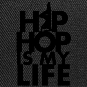 Tablier Hip hop is my life - Casquette snapback