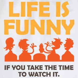 Life Is Funny 4 (dd)++ T-skjorter - Gymbag