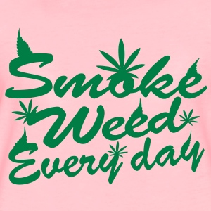 smoke weed every day Tröjor - Premium-T-shirt dam