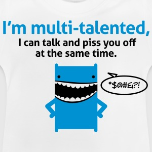 Multi Talented 4 (2c)++ Kinder shirts - Baby T-shirt