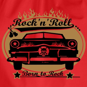 Born to Rock - Turnbeutel