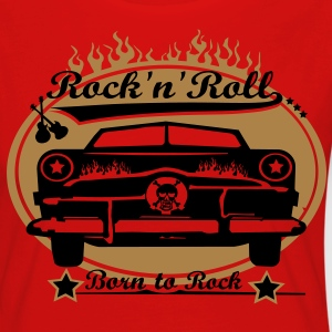 Born to Rock - Frauen Premium Langarmshirt
