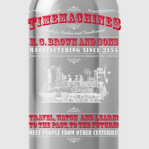 Timemachines (hell) T-Shirts - Trinkflasche