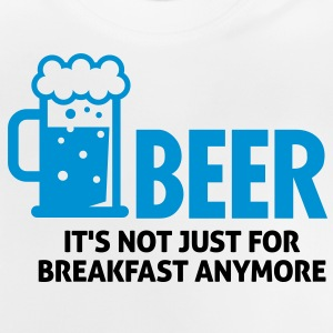 Beer For Breakfast 3 (2c)++ Barneskjorter - Baby-T-skjorte
