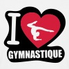 i love gymnastique Tee shirts - T-shirt Homme