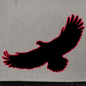 2 Color Adler Eagle Greifvogel Raptor Vogel Bird Flying Fliegender Giacche - Snapback Cap